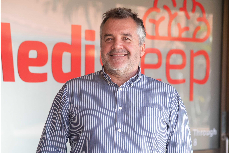 Peter Taylor at Medisleep Ballina